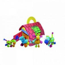 BIBA TOYS Развивающая игрушка-подвеска ФЕРМЕРСКИЙ ДОМ с животными 4шт.