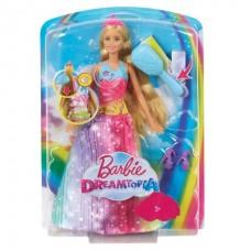 """Barbie FRB12 """"Принцесса с волшебными волосами в сверкающем платье"""""""