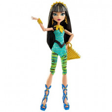 Monster High Клео де Нил Первый день в школе