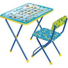 НИКА Набор мебели АЗБУКА (стол + мяг стул)