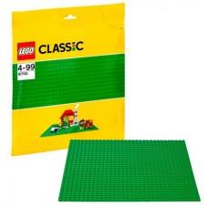 Lego Лего Классика Строительная пластина зеленого цвета 10700