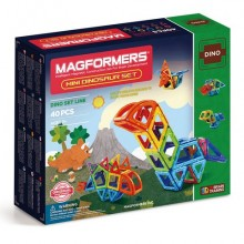 Magformers Mini Dinosaur Set 40 элементов