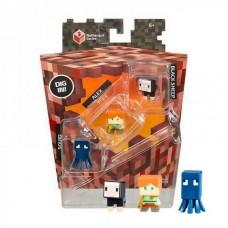Набор минифигурок Minecraft Pack Squid Alex Black Sheep