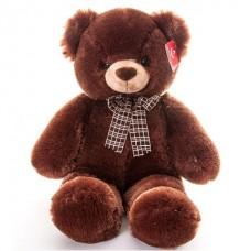 Мягкая игрушка Медведь коричневый с бантом (69 см)
