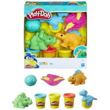 "Игровой набор Hasbro Play - Doh Плей-До ""Малыши-Динозаврики"""