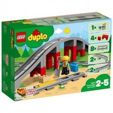 Lego Duplo Конструктор Железнодорожный мост и рельсы