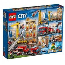 LEGO City Пожарные: Центральная пожарная станция 60216