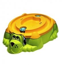 Песочница-бассейн - Собачка с крышкой