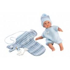LLORENS: Кукла-малыш с конвертом-переноской