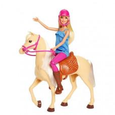 Кукла Barbie FXH13 Барби и лошадь