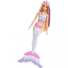 Кукла Barbie GCG67 Барби Цветная русалочка