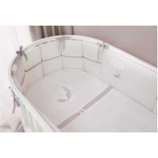 Комплект в круглую и овальную кроватку Perina Bonne Nuit Oval (7 предметов)  01-04209