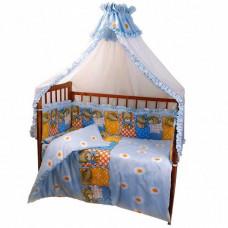 Комплект в кроватку без балдахина 6 предметов Патрино «1001»  в ассортименте 00-34078