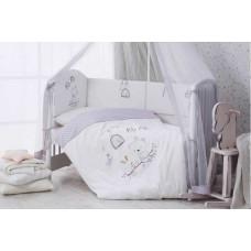 Комплект в кроватку Perina Pio Pio, сатин (7 предметов)   01-04207