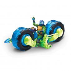 Мотоцикл TMNT с фигуркой Лео 82481