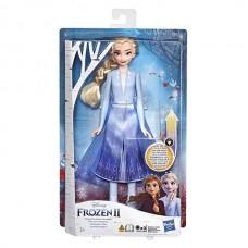 Hasbro Disney Princess E6952/E7000 ХОЛОДНОЕ СЕРДЦЕ 2 Эльза в сверкающем платье