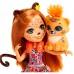 Enchantimals Чериш Гепарди FJJ20 Кукла с любимой зверюшкой