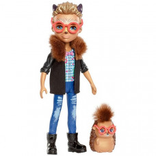 Enchantimals ежик Хиксби с любимой зверюшкой – Mattel FJJ22
