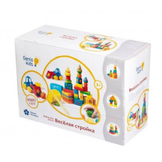 Набор пластилина для лепки Genio Kids - Веселая стройка