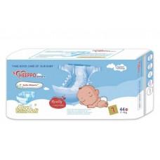 Подгузники детские Heeppo Baby №1 NB 2-4 кг (44шт.)