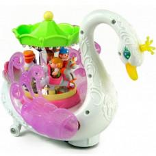 "Huile Toys ""Лебедь-карусель"""