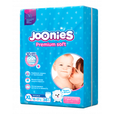 Подгузники-трусики Joonies Premium Soft XL 12-17кг 38шт