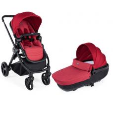 Детская коляска 2в1 Chicco Дуо система Best Friend Crossover Red