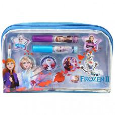Markwins 1599008E Frozen Игровой набор детской декоративной косметики для лица в косметичке прямоуг.
