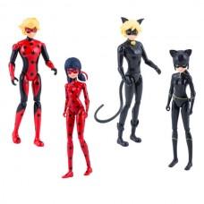 Леди Баг 39945 Набор 4 героя с аксессуарами (куклы 13 см)