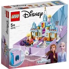 LEGO Disney Princess 43175 Конструктор ЛЕГО Принцессы Книга сказочных приключений Анны и Эльзы