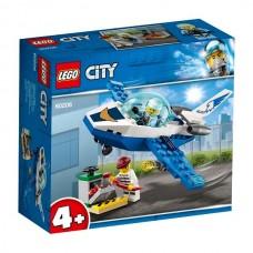 LEGO City Воздушная полиция: Патрульный самолёт 60206