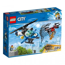 LEGO City 60207 Конструктор ЛЕГО Город Воздушная полиция: Погоня дронов