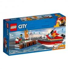 LEGO City Пожарные: Пожар в порту  60213