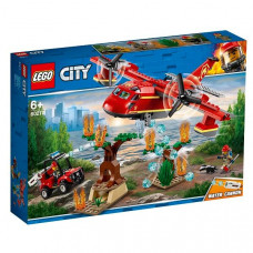 LEGO City Пожарные: Пожарный самолёт  60217