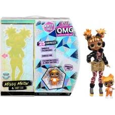 Лол Омг Мисси Мяу Винтер Чилл 2 куклы Lol Omg Missy Meow Winter Chill