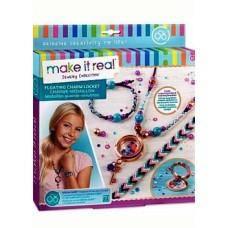 """Make it real 1302 Набор для создания браслетов и ожерелья """"Медальон"""""""