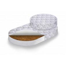 Комплект матрасов RingFix в кровать-трансформер Круг (75*75 см) + Овал (125*75см) средней степени жёсткости (кокос, холкон) 00-74231