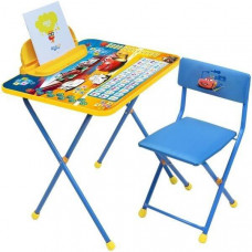 Парта и стул для детей с пеналом Дисней Тачки Д2Т