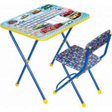 Набор мебели Ника Большие Гонки (стол+мягкий стул)