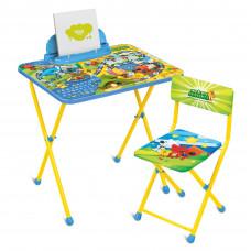 Набор мебели стол+стул Ника «Ми-ми-мишки» c игрой