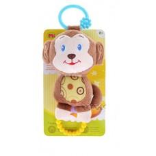 """Mioshi Toys MIO0302-019 Игрушка погремушка-прорезыватель Mioshi """"Весёлые друзья"""""""