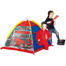 Детская палатка «Гараж», сине-красный, 112х112х94 см, от 2-х лет