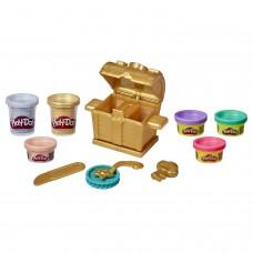 Play-Doh Сундук сокровищ набор пластилина E9435
