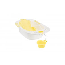 Ванна детская Happy Baby BATH COMFORT yellow  00-76087