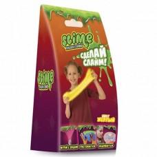 """Малый набор для девочек Slime SS100-1 """"Лаборатория"""", желтый магнитный, 100 гр."""
