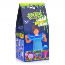"""Малый набор для мальчиков Slime SS100-5 """"Лаборатория"""", синий магнитный, 100 гр."""