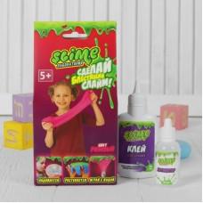 """Малый набор для девочек Slime SS100-2 """"Лаборатория"""", розовый магнитный, 100 гр."""