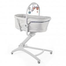 Кроватка-стульчик Baby Hug 4-в-1 Glacial Chicco
