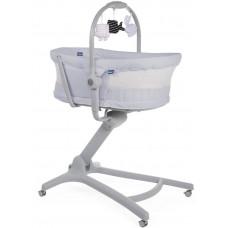 Кроватка-стульчик Baby Hug Air 4-в-1 Stone Chicco