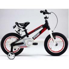 """ROYAL BABY Велосипед двухколесный SPACE NO.1 ALLOY 16"""" Черный BLACK   RB16-17"""